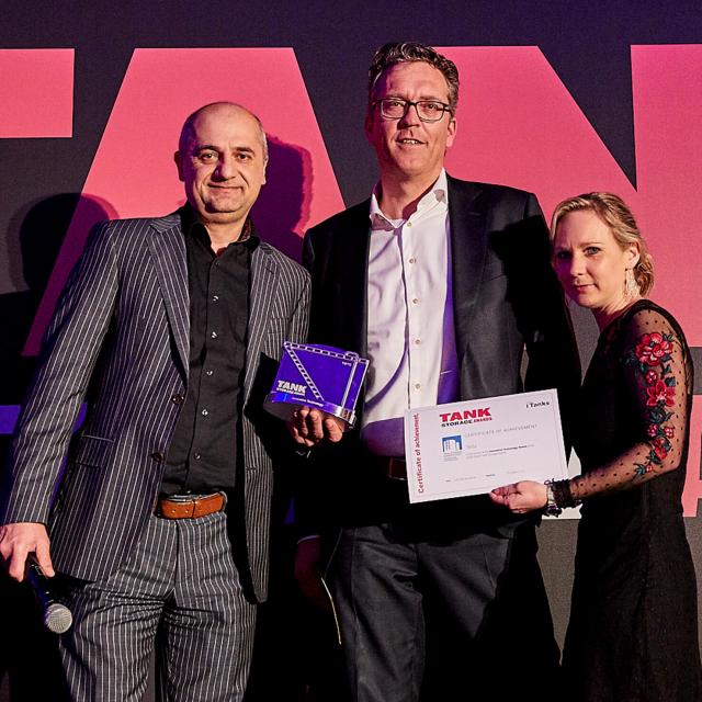 TWTG wins 'Innovative Technology' TankStorage Award