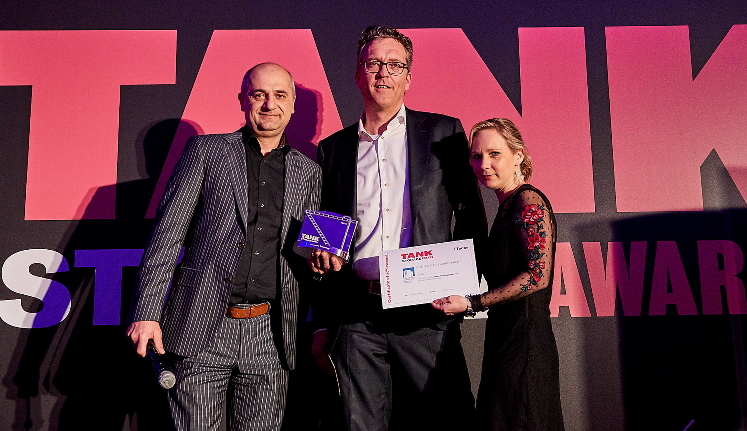TWTG wins 'Innovative Technology' TankStorage Award